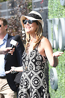 FLUSHING NY- SEPTEMBER 10: Savannah Guthrie at the US Open Men's Final Championship match at the USTA Billie Jean King National Tennis Center on September 10, 2017 in Flushing, Queens. <br /> CAP/MPI/PAL<br /> &copy;PAL/MPI/Capital Pictures