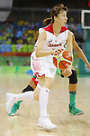 Mika Kurihara (JPN), AUGUST 8, 2016 - Basketball : <br /> Women's Preliminary Round <br /> between Japan 82-66 Brazil <br /> at Youth Arena <br /> during the Rio 2016 Olympic Games in Rio de Janeiro, Brazil. <br /> (Photo by Yusuke Nakanishi/AFLO SPORT)