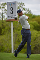 Matt Kuchar (USA) watches his tee shot on 3 during day 3 of the WGC Dell Match Play, at the Austin Country Club, Austin, Texas, USA. 3/29/2019.<br /> Picture: Golffile | Ken Murray<br /> <br /> <br /> All photo usage must carry mandatory copyright credit (© Golffile | Ken Murray)