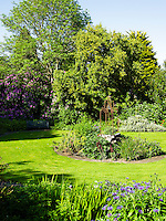 View of the landscaped garden
