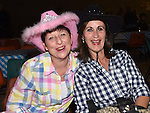 Cathy Scotson and Annette Kennedy pictured at the barn dance at Oberstown farm. Photo:Colin Bell/pressphotos.ie
