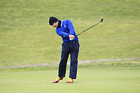 Jorge Campillo (ESP) on the 1st fairway during Round 1 of the Open de Espana 2018 at Centro Nacional de Golf on Thursday 12th April 2018.<br /> Picture:  Thos Caffrey / www.golffile.ie<br /> <br /> All photo usage must carry mandatory copyright credit (&copy; Golffile | Thos Caffrey)