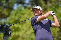 Matt Jones (AUS) watches his tee shot on 2 during day 1 of the Valero Texas Open, at the TPC San Antonio Oaks Course, San Antonio, Texas, USA. 4/4/2019.<br /> Picture: Golffile | Ken Murray<br /> <br /> <br /> All photo usage must carry mandatory copyright credit (© Golffile | Ken Murray)