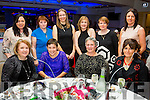Staff from Waterville Early Years Centre enjoying a night out in Legends Lounge Waterville on Saturday pictured front l-r; Marion O'Neill, Tara McGillicuddy, Susan Turner, Marjanneke Van den Hove, back l-r; Maureen Teehan, Joan Bowler, Berdien Driscoll, Holly Kennedy, Annette O'Leary & Martina O'Mahony.