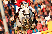 GER-Philipp Weishaupt rides LB Convall during the Mercedes-Benz Nationenpreis - Nations Cup Team Jumping Competition. 2017 GER-CHIO Aachen Weltfest des Pferdesports. Thursday 20 July. Copyright Photo: Libby Law Photography
