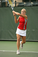 STANFORD, CA - NOVEMBER 11:  Courtney Clayton of the Stanford Cardinal during picture day on November 11, 2008 at the Taube Family Tennis Stadium in Stanford, California.