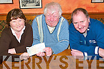 Hospital funds: Martin Hickey, Listowel presenting a cheque to the Listowel Community Hospital matron Ann O'Connor with Deputy Mayor Cllr Tom Walsh.   Copyright Kerry's Eye 2008