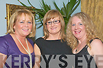 Quiet Party: Margaret Lynch, Moyvane,(centre) celebrating her birthday with friends Margaret O'Connor and  Eilea Sheehan at the Listowel Arms Hotel on Saturday nigh last.