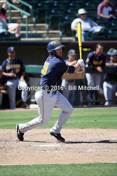 Brett Cumberland - 2016 California Golden Bears (Bill Mitchell)