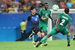 Takumi Minamino (JPN), AUGUST 4, 2016 - Football / Soccer : Men's First Round Group B between Nigeria 5-4 Japan at Amazonia Arena during the Rio 2016 Olympic Games in Manaus, Brazil. (Photo by YUTAKA/AFLO SPORT)