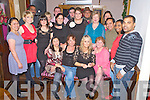 Staff from Ashborough Lodge, Milltown pictured during their Christmas party in Corkerys Bar, Killarney on Friday night.