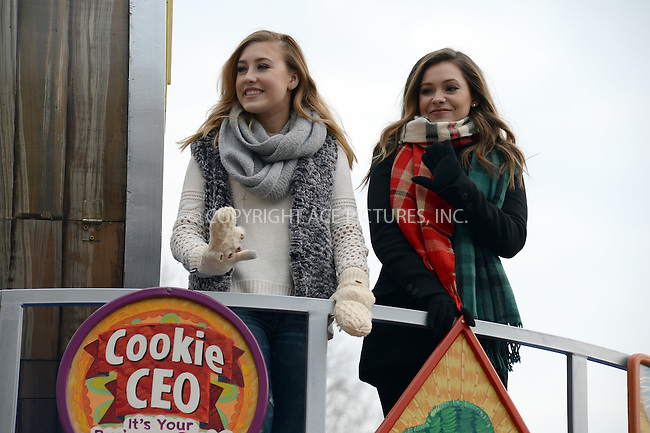 www.acepixs.com<br /> <br /> November 24 2016, New York City<br /> <br /> Taylor Dye and Maddie Marlow of Maddie &amp; Tae made an appearance at the 90th Annual Macy's Thanksgiving Day Parade on November 24, 2016 in New York City.<br /> <br /> By Line: Kristin Callahan/ACE Pictures<br /> <br /> <br /> ACE Pictures Inc<br /> Tel: 6467670430<br /> Email: info@acepixs.com<br /> www.acepixs.com