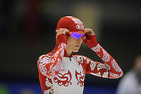 SCHAATSEN: HEERENVEEN: Thialf, World Cup, 02-12-11, 500m B, Svetlana Kaykan RUS, ©foto: Martin de Jong