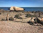 Hammonasset State Beach Park, Meigs Point Rocks.