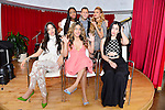 MIAMI, FL - MAY 01: (EXCLUSIVE COVERAGE) Normani Kordei, Lauren Jauregui, Ally Brooke Hernandez, Dinah Jane Hansen, Camila Cabello of Fifth Harmony poses for portrait with Luis Jairala (center Top) on May 1, 2015 in Miami, Florida. ( Photo by Johnny Louis / jlnphotography.com )