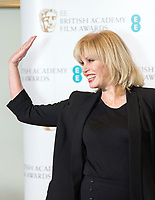www.acepixs.com<br /> <br /> January 9 2018, London<br /> <br /> Joanna Lumley taking part at The EE British Academy Film Award, BAFTA, nominations announcement at BAFTA on January 9, 2018 in London, England.<br /> <br /> By Line: Famous/ACE Pictures<br /> <br /> <br /> ACE Pictures Inc<br /> Tel: 6467670430<br /> Email: info@acepixs.com<br /> www.acepixs.com