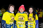 Eileen, Danitza and Andrea Houlihan, Rathmore at the Killarney Darkness into Light walk at Killarney Racecourse Saturday morning