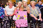 At the Ardfert NS Strictly Come Dancing in the Ballyroe Heights Hotel on Saturday night were Mairead Kirby, Caroline McAuliffe, Evie McAuliffe, Chatarina Kelly and Peggy O'Sullivan supporting Marcus and Grainne
