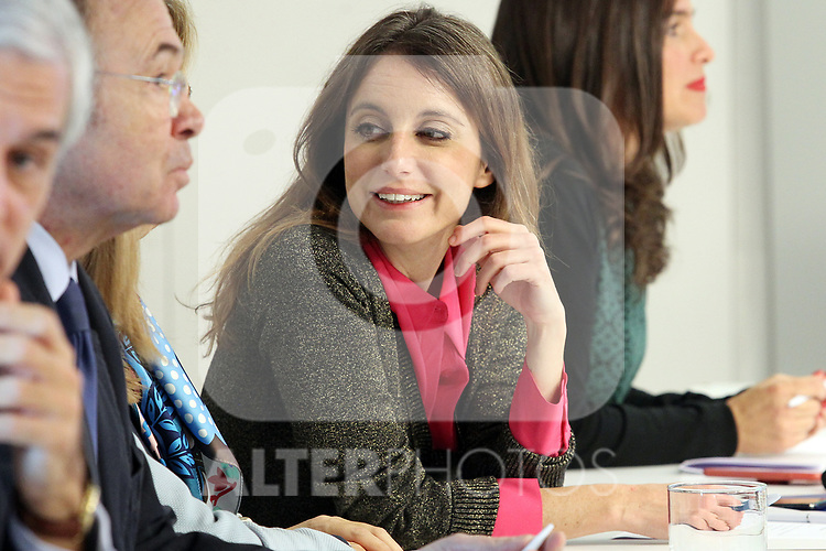 Andrea Levy (PP) attends the Central Executive Board meeting to evaluate the election results on November 12, 2019 in Madrid, Spain.(ALTERPHOTOS/ItahisaHernandez)