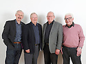 Tom Sell, Tim Brooke-Taylor, Graeme Garden ,Barry Cryer , commedians and writer s who regularily appears in I'm Sorry I haven't a Clue on Radio. CREDIT Geraint Lewis
