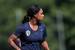 CARY, NC - AUGUST 17: Taylor Smith. The North Carolina Courage held a training session on August 17, 2017, at WakeMed Soccer Park Field 3 in Cary, NC.