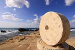 Israel, Upper Galilee, Achziv on the Mediterranean coast