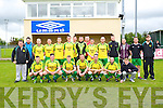 Tralee Celtic Team in the Denny Div. 2B Final Mitchels Ave V Tralee Celtic at Mounthawk Park on Sunday