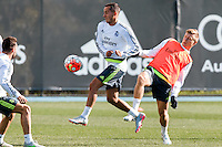 Melbourne, 16 July 2015 - Real Madrid training session at the Melbourne City Football Academy training ground before their match against AS Roma on 18 July at the 2015 International Champions Cup in Melbourne, Australia. Photo Sydney Low/AsteriskImages.com