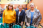 Joan Kelly, Ann Kelliher and Elaine Fitzgerald (Lixnaw), attending the Monster Bingo fundraiser for the Curraheen Community Room Extension Fund in the KDYS on Sunday.<br />  .