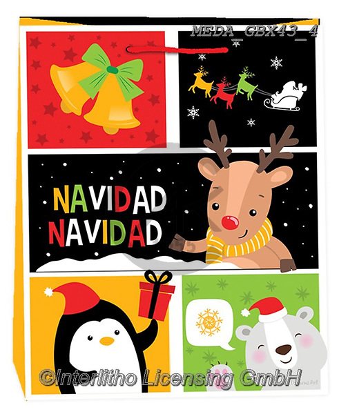 Dreams, CHRISTMAS ANIMALS, WEIHNACHTEN TIERE, NAVIDAD ANIMALES, paintings+++++,MEDAGBX43/4,#XA# ,sticker,stickers