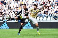 Cristiano Ronaldo of Juventus , Nenad Tomovic of SPAL <br /> Torino 28/09/2019 Allianz Stadium <br /> Football Serie A 2019/2020 <br /> Juventus FC - SPAL <br /> Photo Image Sport / Insidefoto