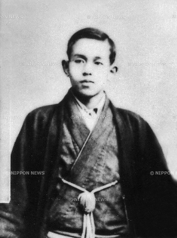 Undated - Takuboku Ishikawa(1886-1912), Japanese poet. Well known as both a tanka and 'modern-style' or 'free-style' poet. (Photo by Kingendai Photo Library/AFLO)