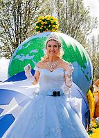Sumner Daffodil Festival and Parade 2019, Sumner, Washington.