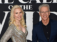 "13 February 2020 - Hollywood, California - Chris Sanders and Wife Jessica Steele-Sanders. ""The Call of the Wild"" Twentieth Century Studios World Premiere held at El Capitan Theater. Photo Credit: Dave Safley/AdMedia"