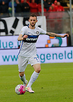 Marcelo Brozovic  during the  italian serie a soccer match,between Frosinone and Inter      at  the Matusa   stadium in Frosinone  Italy , April 09, 2016