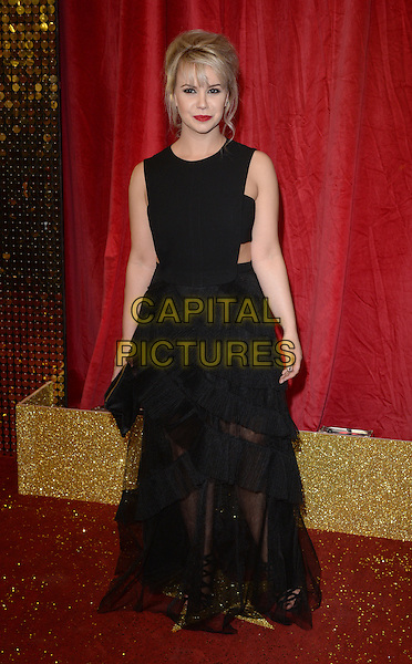 LONDON, ENGLAND - MAY 28: Jessica Fox attends the British Soap Awards 2016 at Hackney Town Hall on May 28, 2016 in London, England.<br /> CAP/BEL<br /> &copy;BEL/Capital Pictures