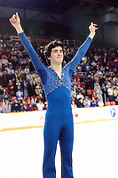 Brian Orser Canadian figure skater compete at the 1981 Canadian Championships in Halifax, Canada. Photo copyright Scott Grant