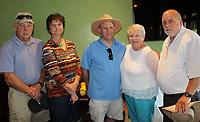 NWA Democrat-Gazette/CARIN SCHOPPMEYER John and Debbie Wageman (from left), Jeff Reinert, Marsha Reiner and Roger Wageman attend the Ozark Guidance Foundation Reinert Cup Golf Classic  on June 25 at Springdale Country Club.