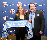 Lee Billiard, Jazmine Reeves. The NWSL draft was held at the Pennsylvania Convention Center in Philadelphia, PA, on January 17, 2014.