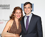 "Jessica Hecht & Jim Parsons.pictured at the Opening Night After Party for the Roundabout Theatre Company's Broadway Production of  ""Harvey"" at Studio 54 New York City June 14, 2012"