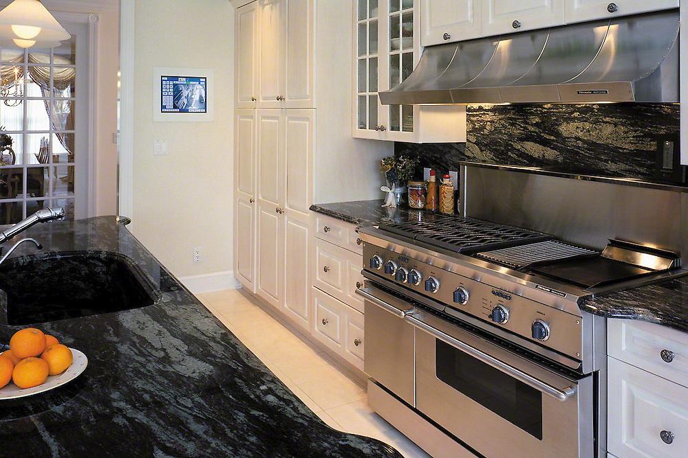 Modern Sleep Kitchen With High Tech Custom Lighting