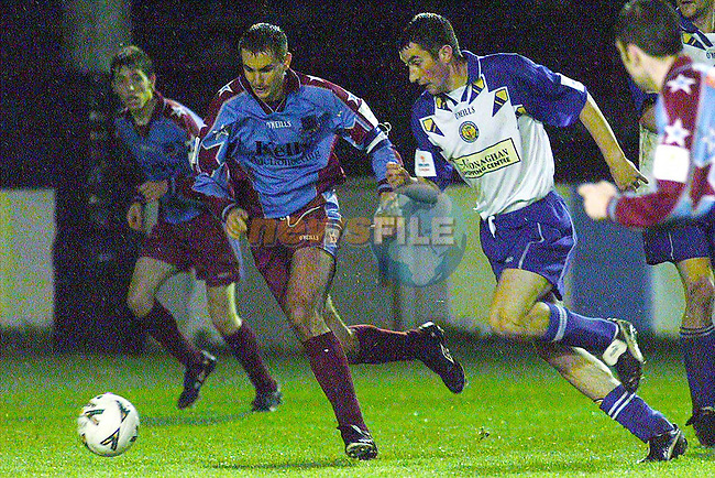 Action from Drogheda and Monaghan in United Park..Picture Paul Mohan Newsfile