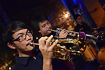 Boplicity, Tainan --  Guest trumpeters during a Smalls Jazz Combo performance.
