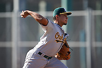 Oakland Athletics pitcher Armando Ruiz (29) during an instructional league game against the San Francisco Giants on October 12, 2015 at the Giants Baseball Complex in Scottsdale, Arizona.  (Mike Janes/Four Seam Images)