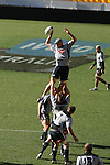 Lineout practice.