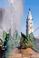 Swann Fountain in Logan's Circle, Philadelphia, Pennsylvania