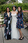 Yazmin and David's San Mateo wedding at the San Mateo Garden Center for portraits and Senior Center for their reception.