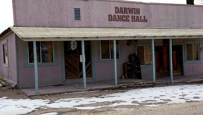 Ghost Town of Darwin between Lone Pine and Death Valley in Northern California