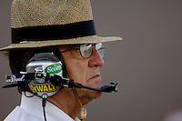Apr 20, 2006; Phoenix, AZ, USA; Nascar Nextel Cup car owner Jack Roush during qualifying for the Subway Fresh 500 at Phoenix International Raceway. Mandatory Credit: Mark J. Rebilas