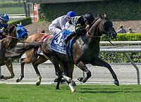 "ARCADIA, CA. JUNE 3: #3 Bal a Bali ridden by Mike Smithin the stretch of the Shoemaker Mile (Grade l), Breeders' Cup ""Win and You're In"" race on June 3, 2017, at Santa Anita Park in Arcadia, CA. (Photo by Casey Phillips/Eclipse Sportswire/Getty Images)"